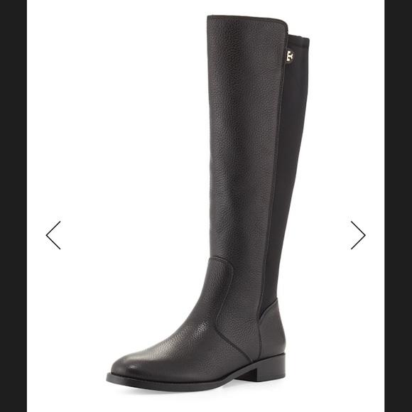 81a67e213cb3 NWT Tory Burch dark brown (coconut) riding boots